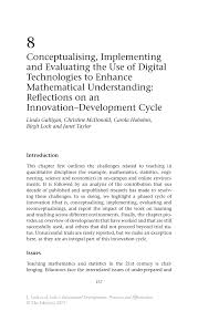 conceptualising implementing and evaluating the use of digital