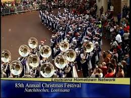 christmas festival natchitoches festival of lights youtube