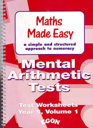 product results for mental arithmetic tests