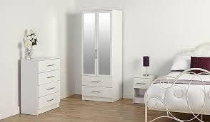 Bedroom Furniture Asda George Home Roselyn Bedside Table White Home U0026 Garden George