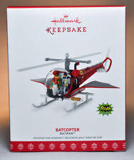 hallmark 2017 batcopter batman classic tv series ornament ebay