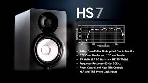 black friday studio monitors yamaha powered studio monitor speaker hs series getinthemix com