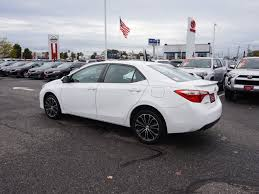 toyota corolla used for sale 2015 used toyota corolla 4dr sedan cvt s plus at toyota of