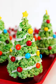 crispy christmas tree u2013 best quick healthy fun food dessert for