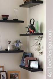 Corner Wall Bookcase Corner Wall Shelves For Living Room Gopelling Net