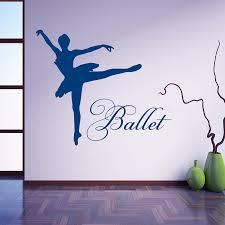 bedroom name dance girls wall art sticker decal home diy full size of vinyl sticker ballet dancer dancing font b ballerina b font wall decal for