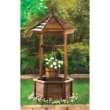 round wooden garden pots boxes ebay