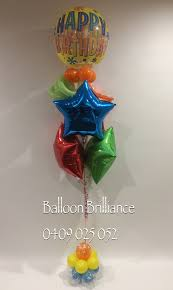 balloon delivery la happy birthday josh sendballoonscanberra