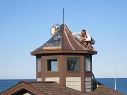 Copper Roof Cupola Metal Roofing Story Roofing Company