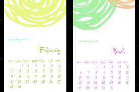 2016 calendar template u2013 46 free word pdf psd eps ai