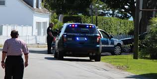 squad cars called to minor car accident inside kennedy compound