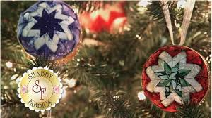 no sew quilted ornament favecrafts