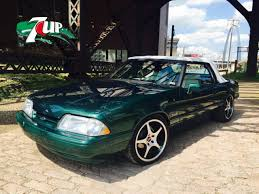 7 up edition mustang limited edition 7up mustang 1990 lx convertible for sale photos