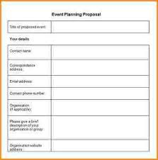 proposal event planning craft a perfect event proposal template