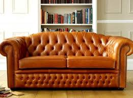 Chesterfield Leather Sofa Bed Oxley Classic Leather Chesterfield Sofa Bed Living Room