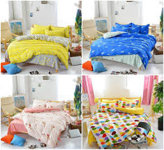 Kid Bed Set High Quality American Style Comforter Bedding Set Yellow Bed