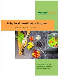 baby food introduction beyond vitality