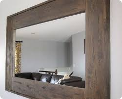 20 Diy Faux Barn Wood Finishes For Any Type Of Wood Shelterness by Best 25 Reclaimed Wood Mirror Ideas On Pinterest Pallet Mirror