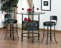 bar height table set breakfast bar table set round table with stools bar bar table round