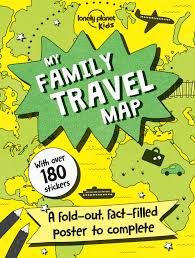 My Travel Map Win 2x Lonely Planet Goodie Bags For Mini Explorers Worth 45