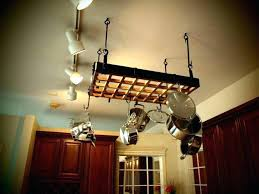 kitchen pot rack with lights u2013 fourgraph