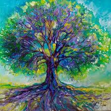 tree of 15x15glass painting glass regarding paintings