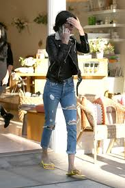 jenner in ripped jeans leaving a nail salon in beverly hills 11