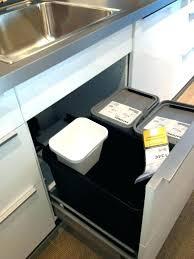 poubelle cuisine encastrable 30 litres poubelle cuisine