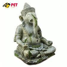 fish tank decorations ganesh buddha statue aquarium resin