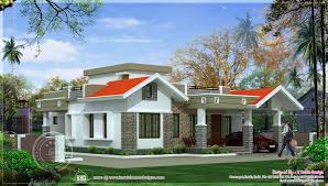 2 bedroom one floor kerala style home design indian house plans