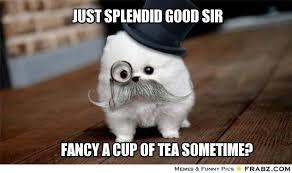 Tea Meme - 15 signs that you are addicted to tea four o clock