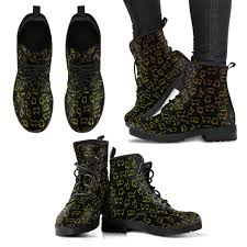 womens leather boots cat pattern s leather boots