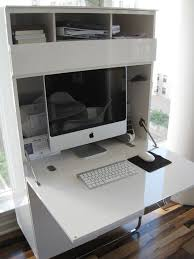 Sunrise Computer Armoire by Look Kara U0027s Stylish Mini Office Mini Office Desks And