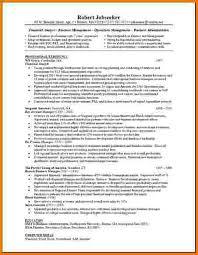 resume of financial analyst 8 financial analyst cv financial statement form