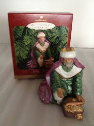 hallmark christmas ornament melchior the magi 1999 blessed
