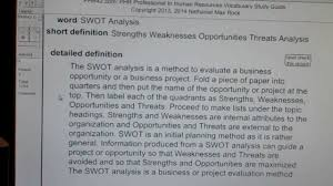 swot analysis phr sphr professional in human resources license