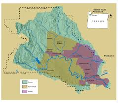 Map Of Hillsboro Oregon by Tualatin River Watershed Council Engaging The Community To