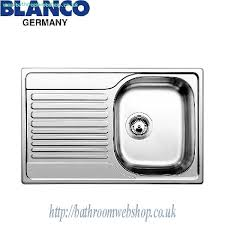 Steel Kitchen Sinks BLANCO Tipo S Compact C Stainless Steel - Compact kitchen sinks stainless steel
