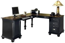 Black Office Desks Black L Shaped Desk Gorgeous L Shaped Black Computer Desk Desk L