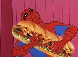 Spider Man Meme Generator - spiderman sandwich blank template imgflip