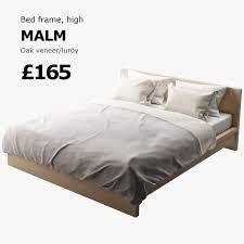 models malm bed 3d cgtrader