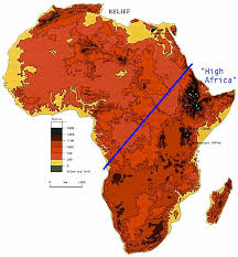 africa map color maps of america