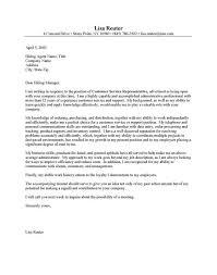luxury cover letter for supervisor position customer services 16