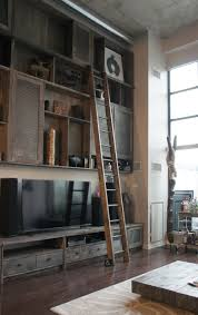 perfect diy rolling library ladder installation u2014 optimizing home