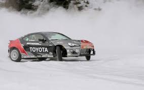 subaru drift snow feature flick fredric aasbo takes a scion fr s snow drifting