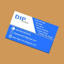 how to make professionally business card with adobe photoshop cc