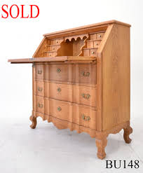 bureau writing desk writing bureau solid oak homestore