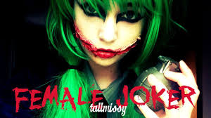 female joker tallmissy youtube