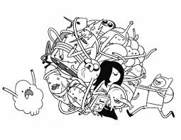 adventure time coloring pages3 free printables maze coloringpages