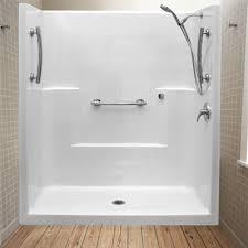 Bathroom Shower Stall Kits Bathroom Enclosures Home Depot Amusing Shower Walk In Within Kits